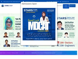 stars.edu.pk screenshot