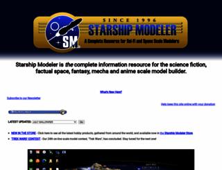 starshipmodeler.com screenshot