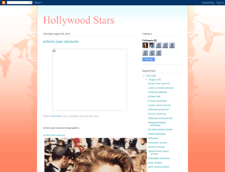 starshollywood1221.blogspot.com screenshot