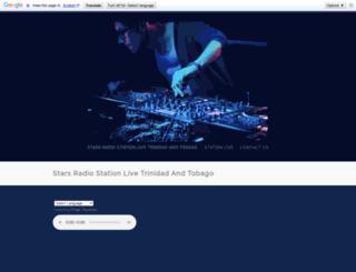 starsradiostationlive.yolasite.com screenshot