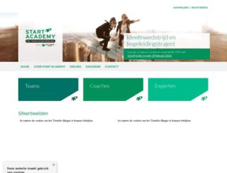start-academy.be screenshot