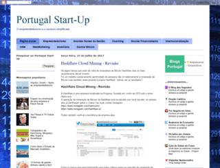 start-upportugal.blogspot.pt screenshot