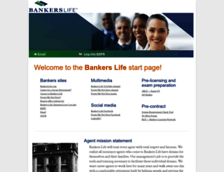 start.bankers.com screenshot