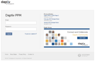start.daptiv.com screenshot