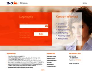 start.ingbusinessonline.pl screenshot
