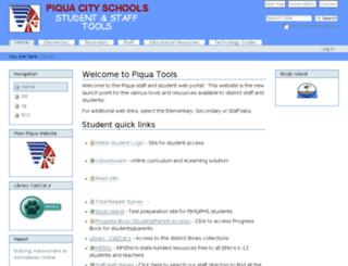 start.piqua.org screenshot