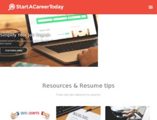 startacareertoday.com screenshot