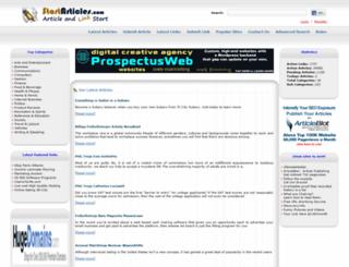 startarticles.com screenshot