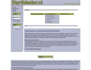 startblaster.nl screenshot