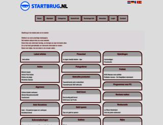 startbrug.nl screenshot
