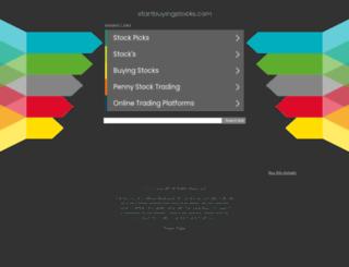 startbuyingstocks.com screenshot