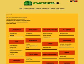 startcenter.nl screenshot