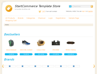 startcommerce.readyshoppingcart.com screenshot