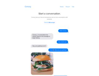 startconvoy.com screenshot