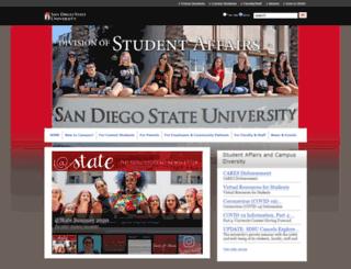 starter.sdsu.edu screenshot