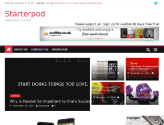 starterpod.co.uk screenshot