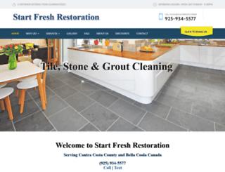 startfreshrestoration.com screenshot