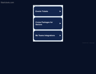 startickets.com screenshot