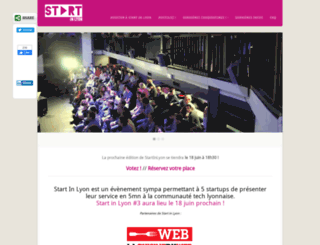 startinlyon.com screenshot