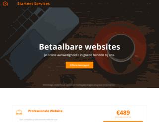 startnet.be screenshot