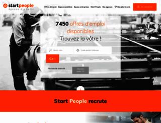 startpeople.fr screenshot