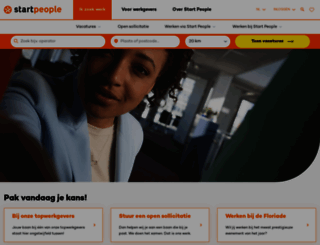 startpeople.nl screenshot