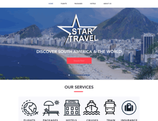 startravel.co.uk screenshot