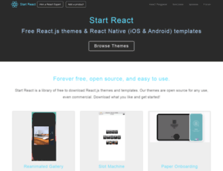 startreact.com screenshot