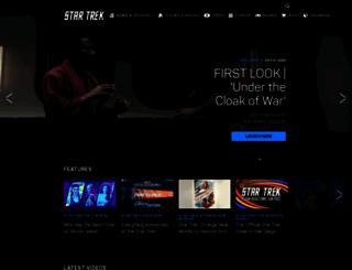 startrek.com screenshot