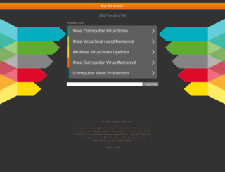 startscan.net screenshot