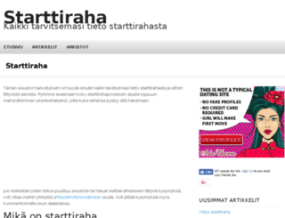 starttiraha.org screenshot