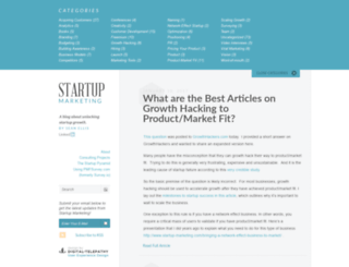 startup-marketing.com screenshot