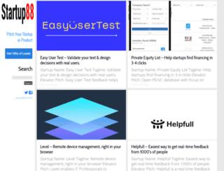 startup88.com screenshot