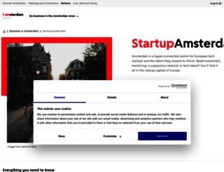 startupamsterdam.org screenshot