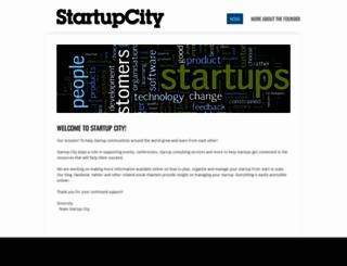 startupcity.org screenshot