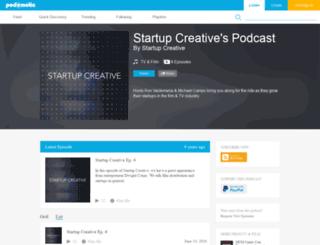 startupcreative.podomatic.com screenshot