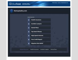 startupdadhq.com screenshot