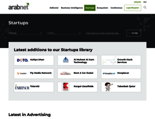 startupdb.arabnet.me screenshot