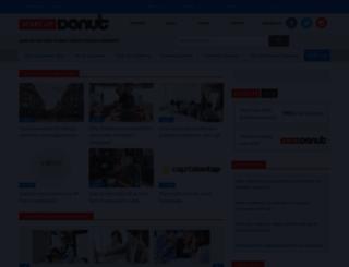 startupdonut.co.uk screenshot