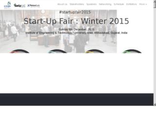 startupfair.org.in screenshot