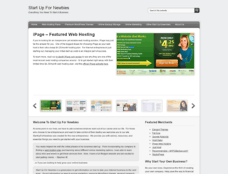 startupfornewbies.com screenshot