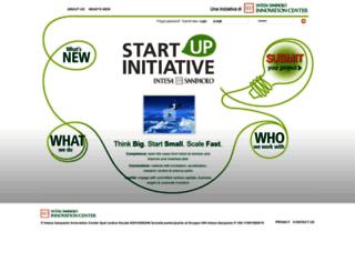 startupinitiative.com screenshot