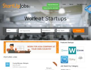 startupjobs.asia screenshot