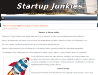 startupjunkies.com screenshot