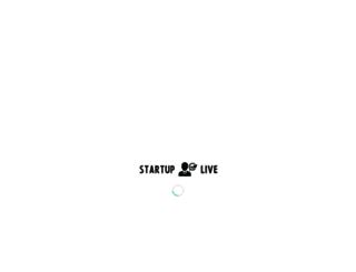 startuplive.in screenshot