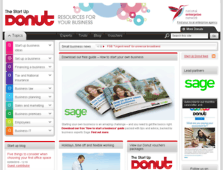 startuploans.startupdonut.co.uk screenshot