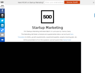startupmarketing.tammycamp.com screenshot