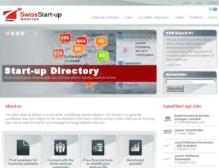 startupmonitor.ch screenshot