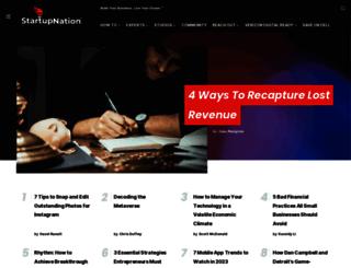 startupnation.com screenshot