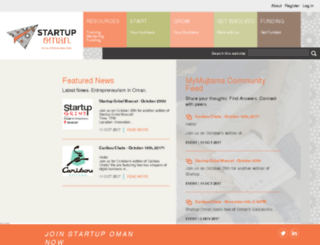 startupoman.om screenshot